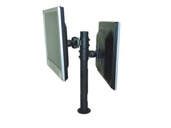 Монтажна стойка предназначена за монтиране на два монитора