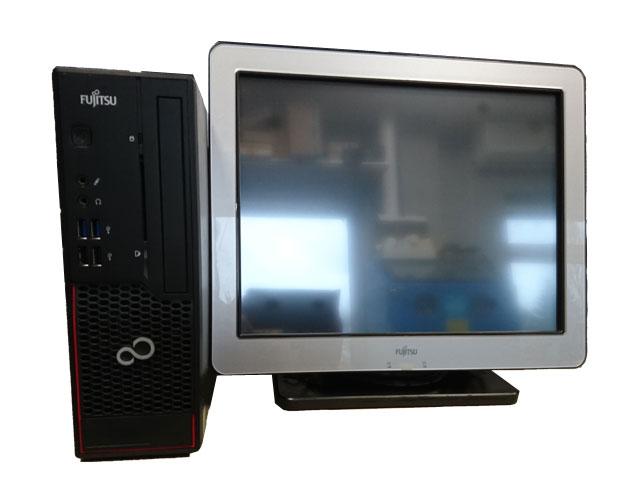 "Реновирана POS система Fujitsu Esprimo C710 с монитор Fujitsu 15"""