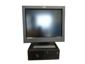 "Реновирана POS система Fujitsu Esprimo C710 с монитор IBM 15"""