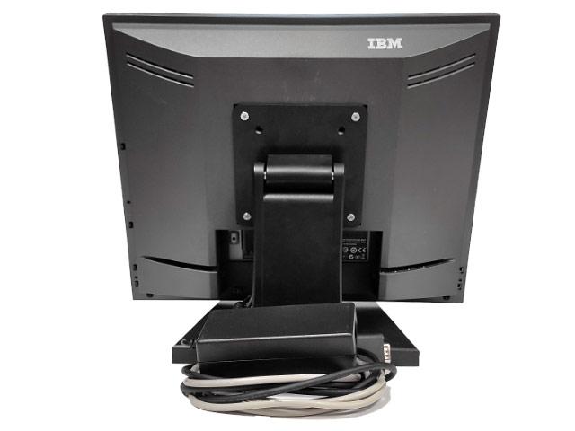 Тъч монитор IBM 15'' 4820-51G втора употреба.Снимка отзад.