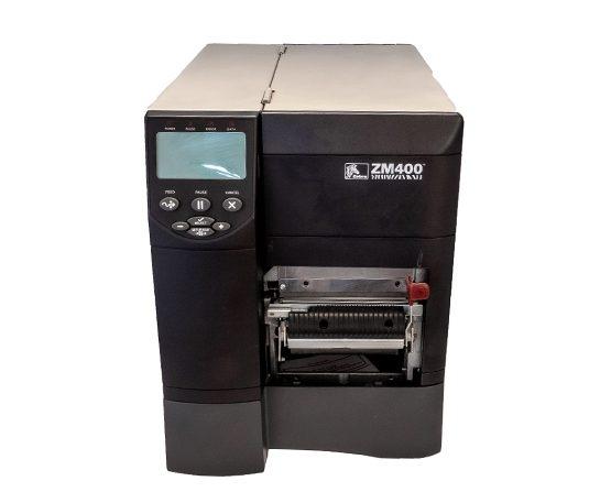 Индустриален етикетен баркод принтер Zebra ZM400