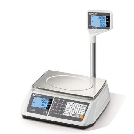 Електронна везна S200L с дисплей кула