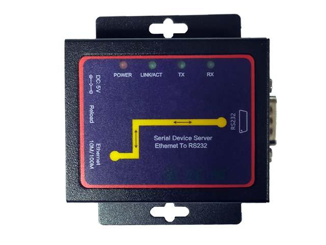 Конвертор от сериен порт RS232 към LAN
