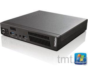 Компютър втора употреба Супер малък / tiny компютър Lenovo Tiny M92p Desktop / Win7 Home Premium