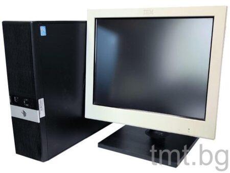 Комплект POS система HP RP5800 + Тъч монитор IBM M/T 4820-51W втора употреба