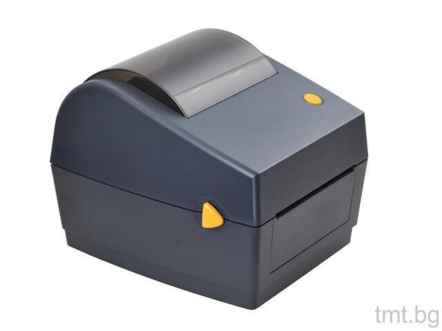 Етикетен баркод принтер DT427B с безжична мрежова връзка
