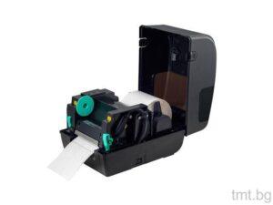 Етикетен баркод принтер TT437B, подходящ за печат на товарителници