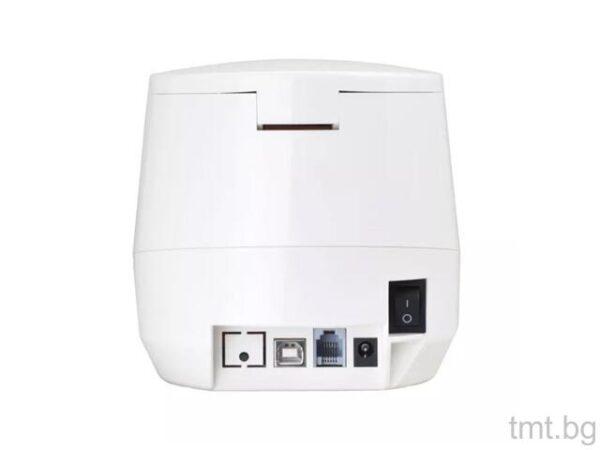 Нов Хибриден принтер за печатане на етикети и нефискални бележки USB и LAN интерфейс
