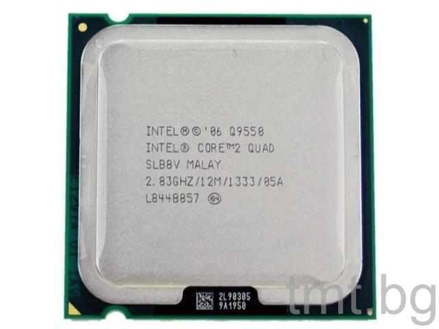 Техника втора употреба Процесор Intel® Core™2 Quad Processor Q9550