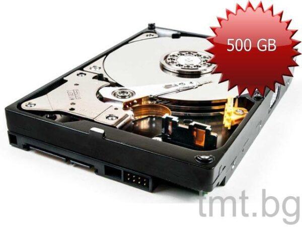 Твърд диск втора употреба 500GB 3.5