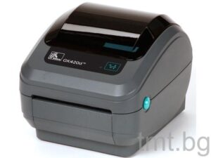 Етикетен принтер втора употреба Zebra GX420d в отлично състояние