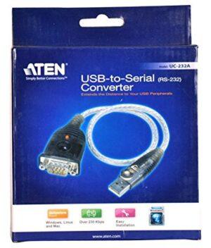 Конвертор ATEN UC232A1, USB 1.1 към RS-232,