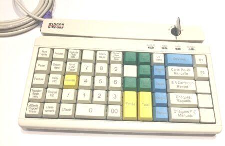 Компактна PrehKeyTec / Wincor MCI60 POS външна клавиатура, нова.